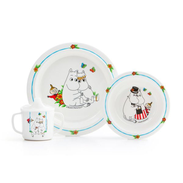 Moomin Tableware Set For Children Tableware Set Moomin Kids Dinnerware Set
