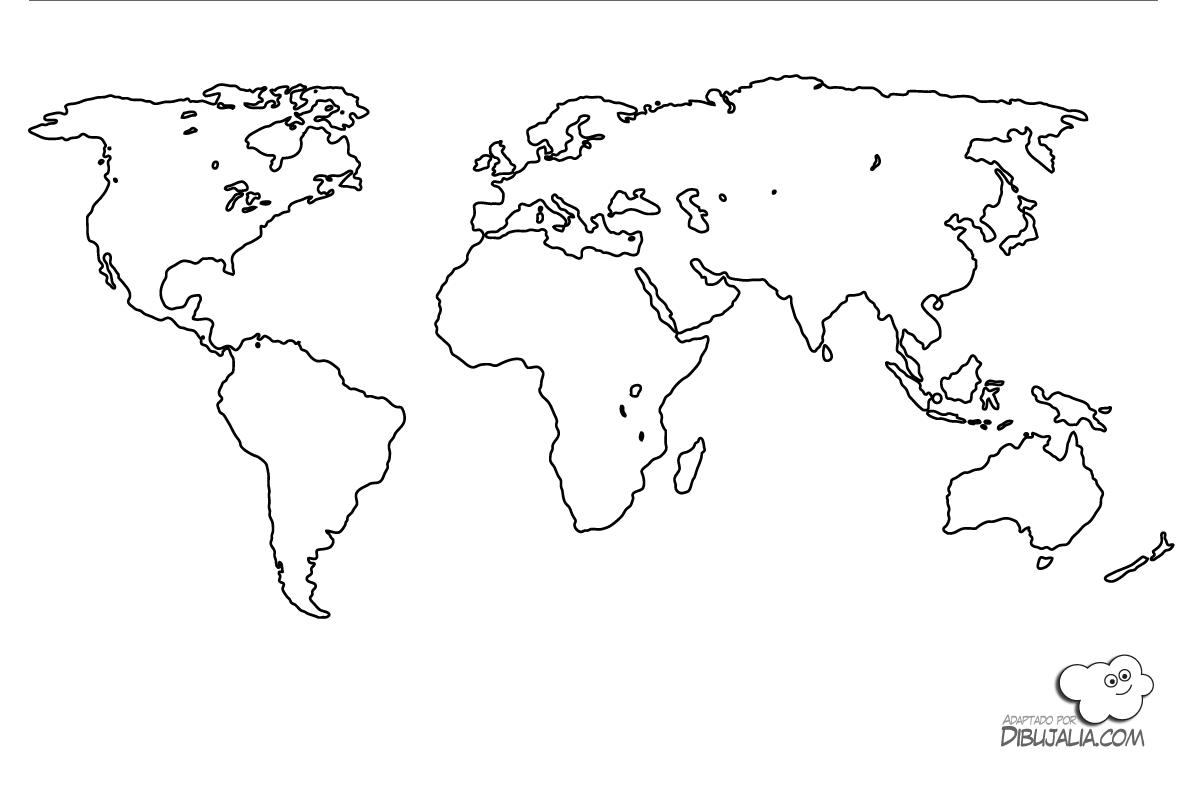 Mapa del Mundo | Recursos Aula | Pinterest | Mapas del mundo, Mapa ...