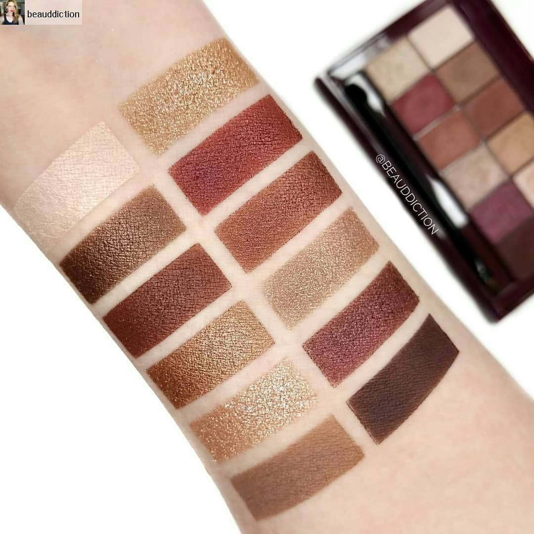195ccd1faaa Maybelline the burgundy bar | Maybelline in 2019 | Makeup palette ...