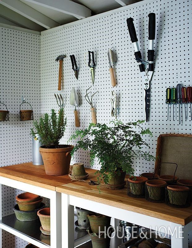 Shed Plans - My Shed Plans - Shed Plans - Display gardening tools