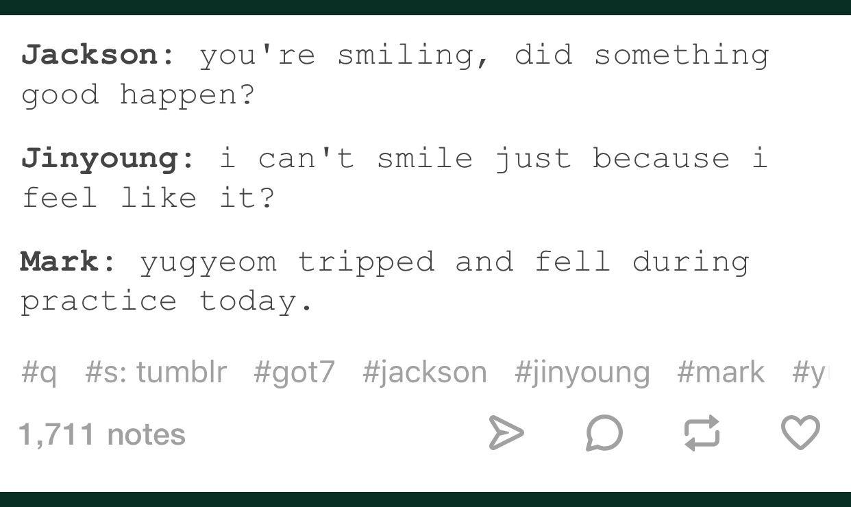 Incorrect Got7 Quotes Tumblr | Got7 in 2019 | Got7, Got7 funny