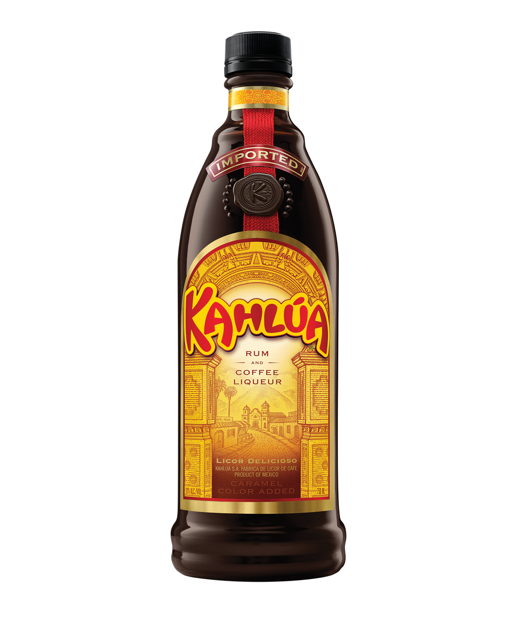 Kahlua, A Coffee Liquor. It's Nice To Drink With Ice, Or