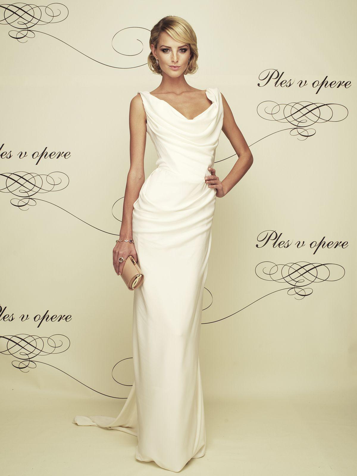 Simple Elegance Slovak Model Michaela Kocianova In Vivienne