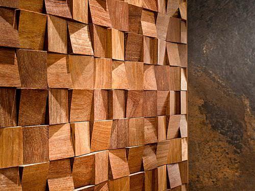 Mosaico de interior / de pared / en madera WOOD-FEEL Porcelanosa ...