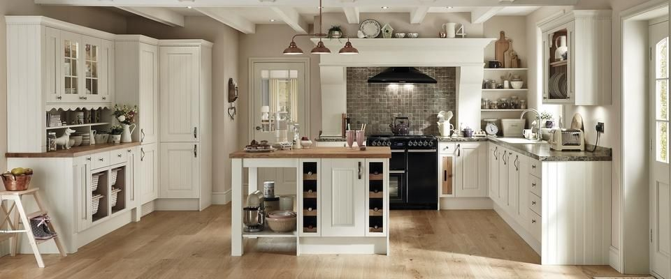 Hartwell Ivory Nice Howdens Kitchen