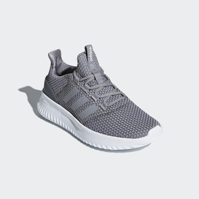 Adidas Neo Men's Cloudfoam Ultimate Shoe (WhiteGrey, Size 12.5 UK)