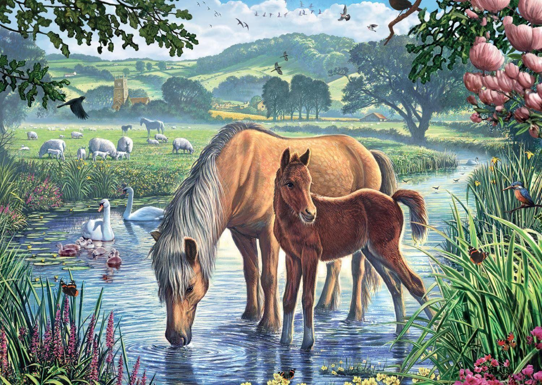 Risultati immagini per immagini naif mare arte pittura for Cavalli arredamento