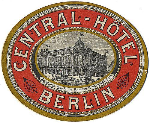 Central-Hôtel, Berlin