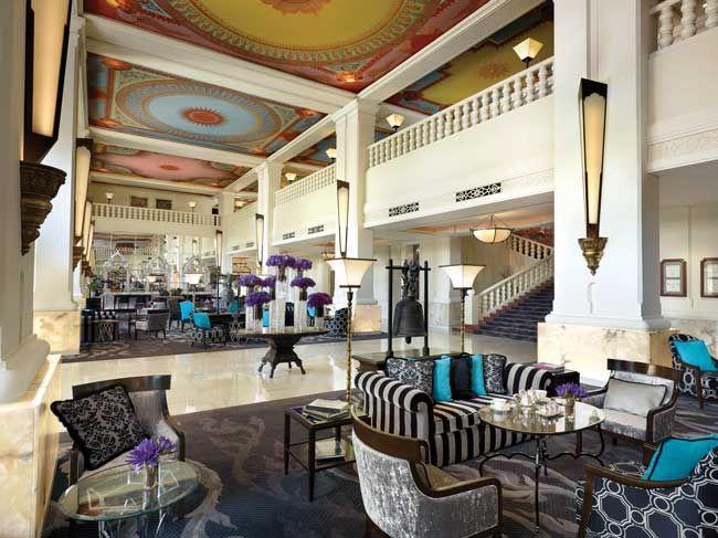 Treffpunkt für Kosmopoliten: das Anantara Siam Bangkok Hotel & Spa