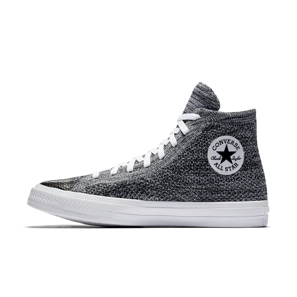 Converse Negro Chuck Taylor All Star x Nike Flyknit Alto Top Unisex