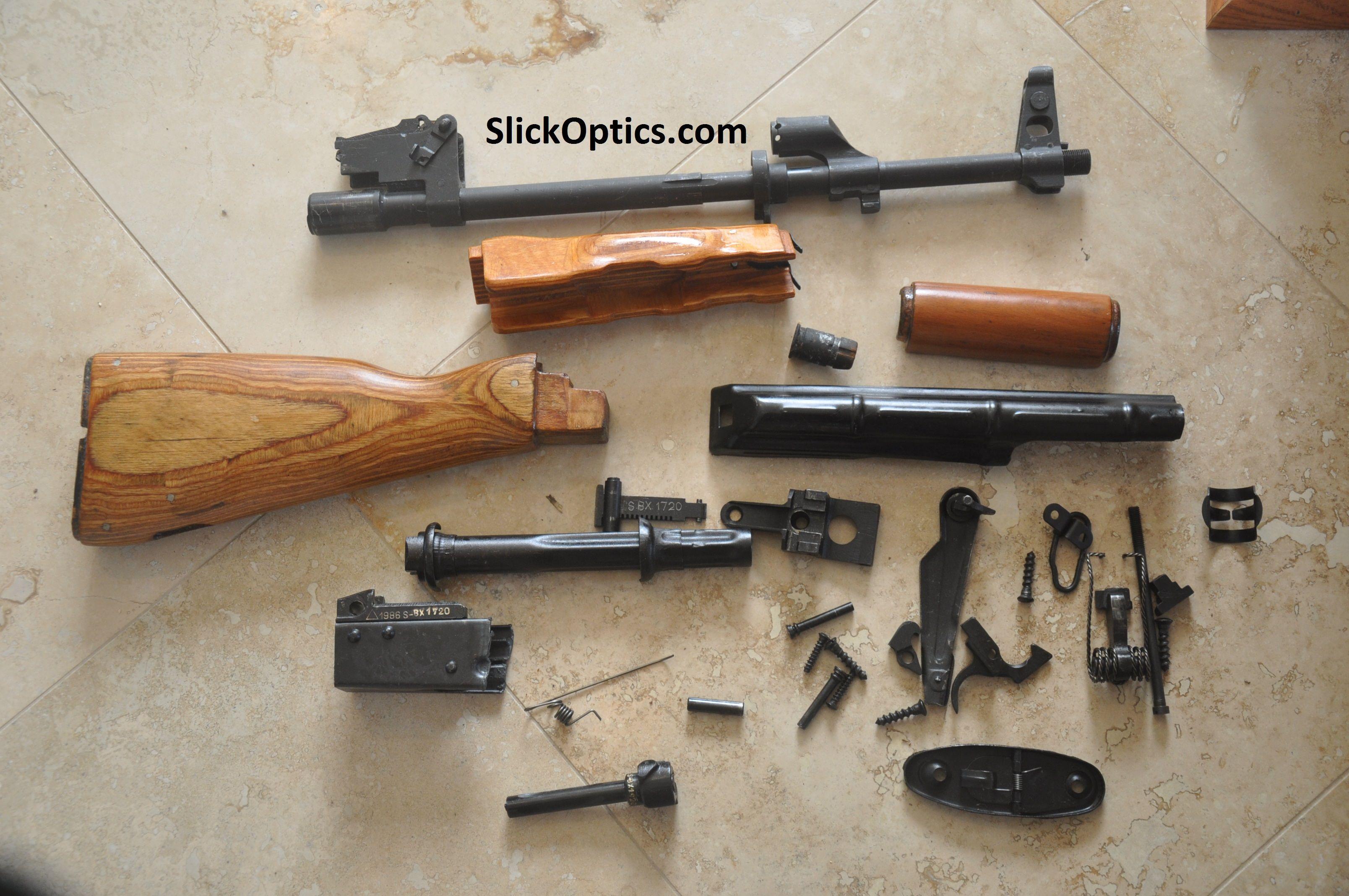 Romanian AK-47 Parts Kit - SlickOptics com | Parts Kits | Ak
