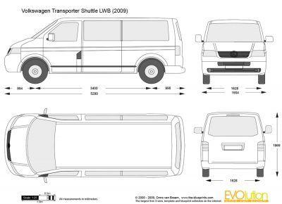 volkswagen transporter shuttle lwb blueprints pinterest. Black Bedroom Furniture Sets. Home Design Ideas