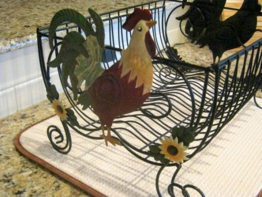 My Rooster Kitchen. Of All The Roosters On This Page, People Seem To Love  The Dish Drying Rack The Best!