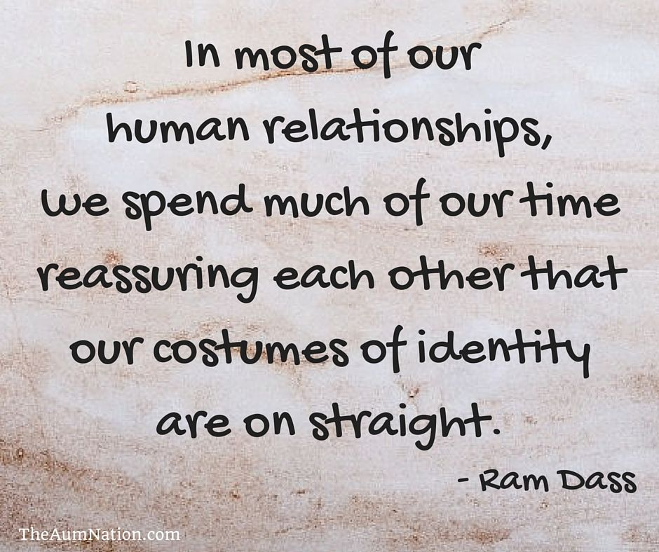 In Most Of Our Human Relationships We Spend Much Of Our Time