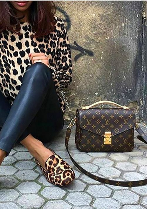 10c2906ef589 Those shoes and purse Leopard Print Bag