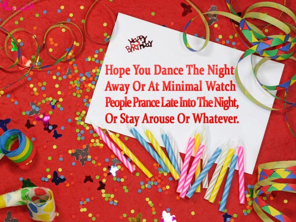 Happy birthday cards in English Birthday cards SMS
