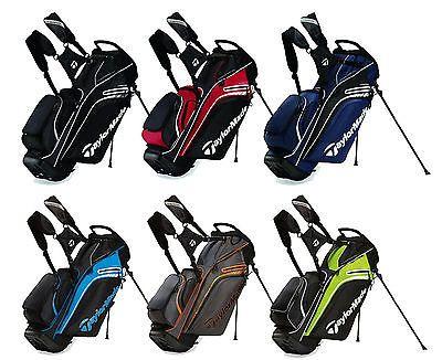 Taylormade Supreme Hybrid Stand Bag Golf 6 Color Options 2017 Via
