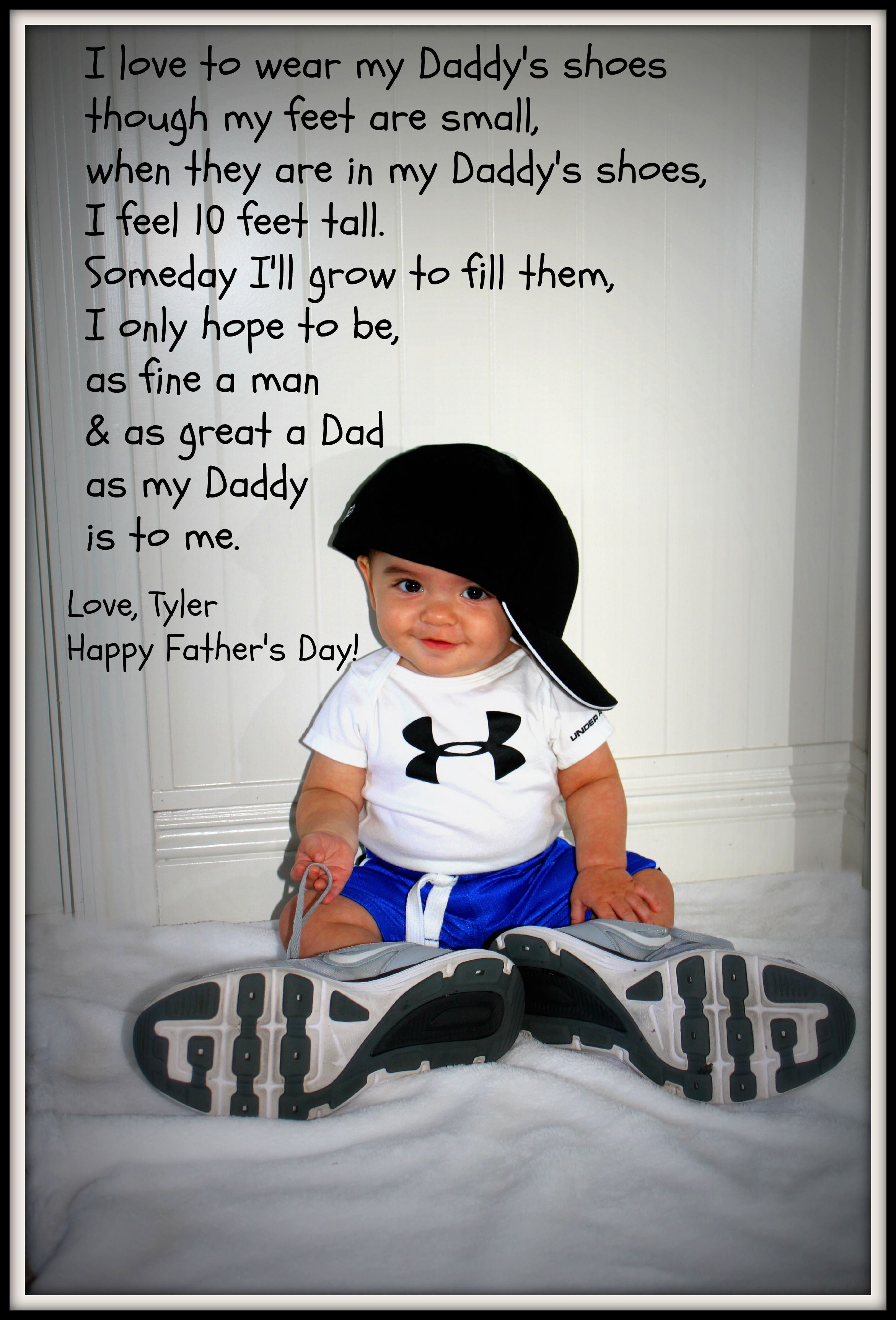 Diy Father S Day Photo Gift Use Your Hubby S Shoes And