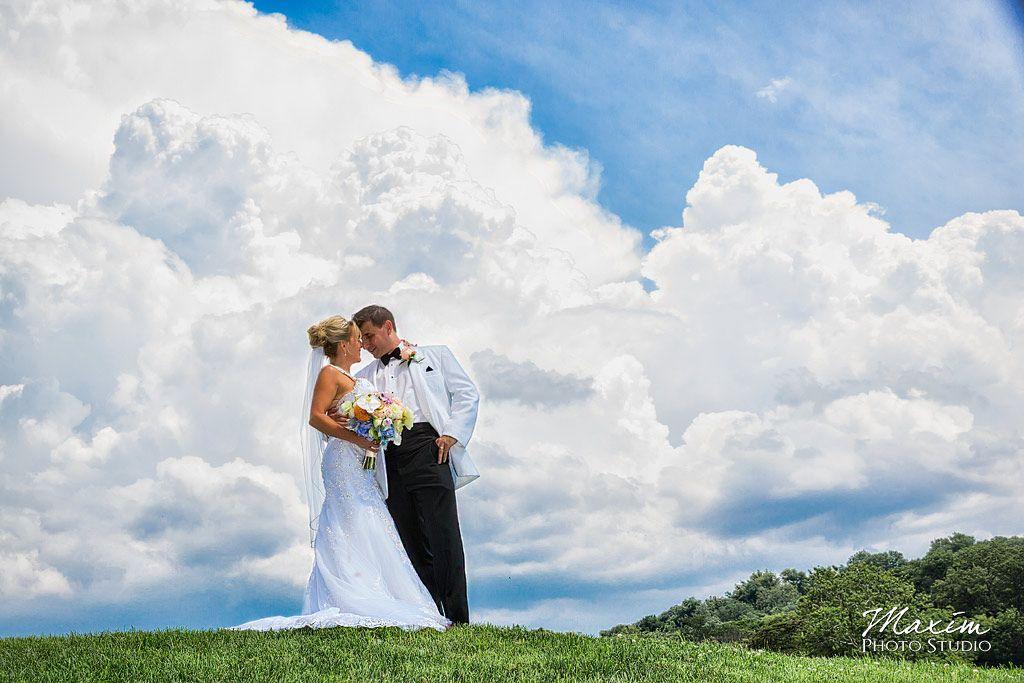 Maxim Photo Studio captured Cindy + Eric's French Park Cincinnati Wedding