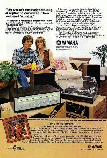 Vintage Audio Yamaha Ad Vintage Electronics Stereo Vintage Ads