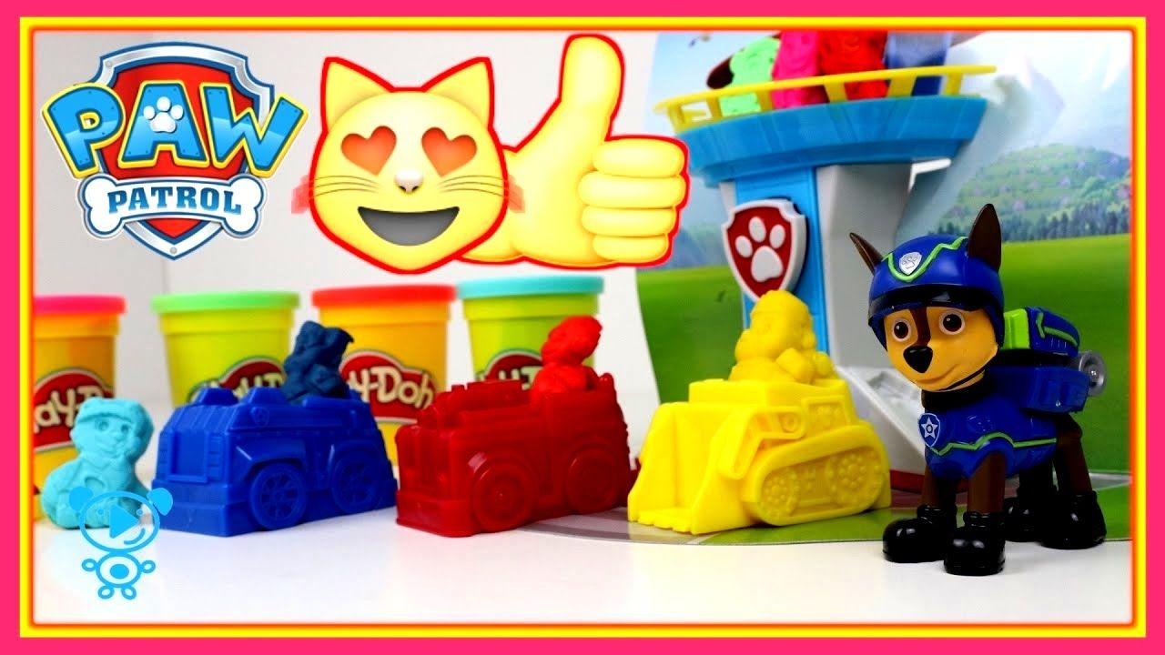 Paw Patrol Videos Play Doh   Chase Paw Patrol Toys For Kids   Video For .