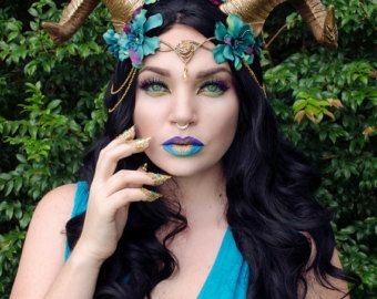 Blue Elven Crown En 2018 Cosplay Pinterest Halloween - Maquillaje-elfo