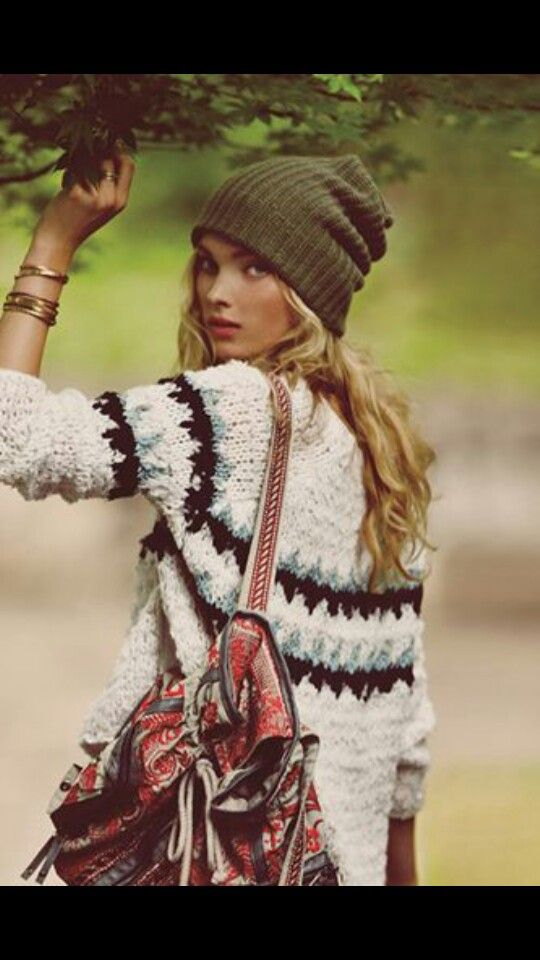Bohemian Style Cold Weather Boho Winter Outfits