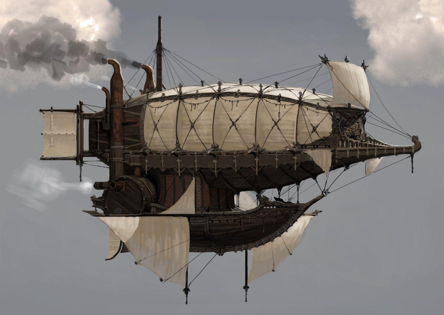 Medieval Mother Ship, Juhyung Kang on ArtStation at http://www.artstation.com/artwork/medieval-mother-ship