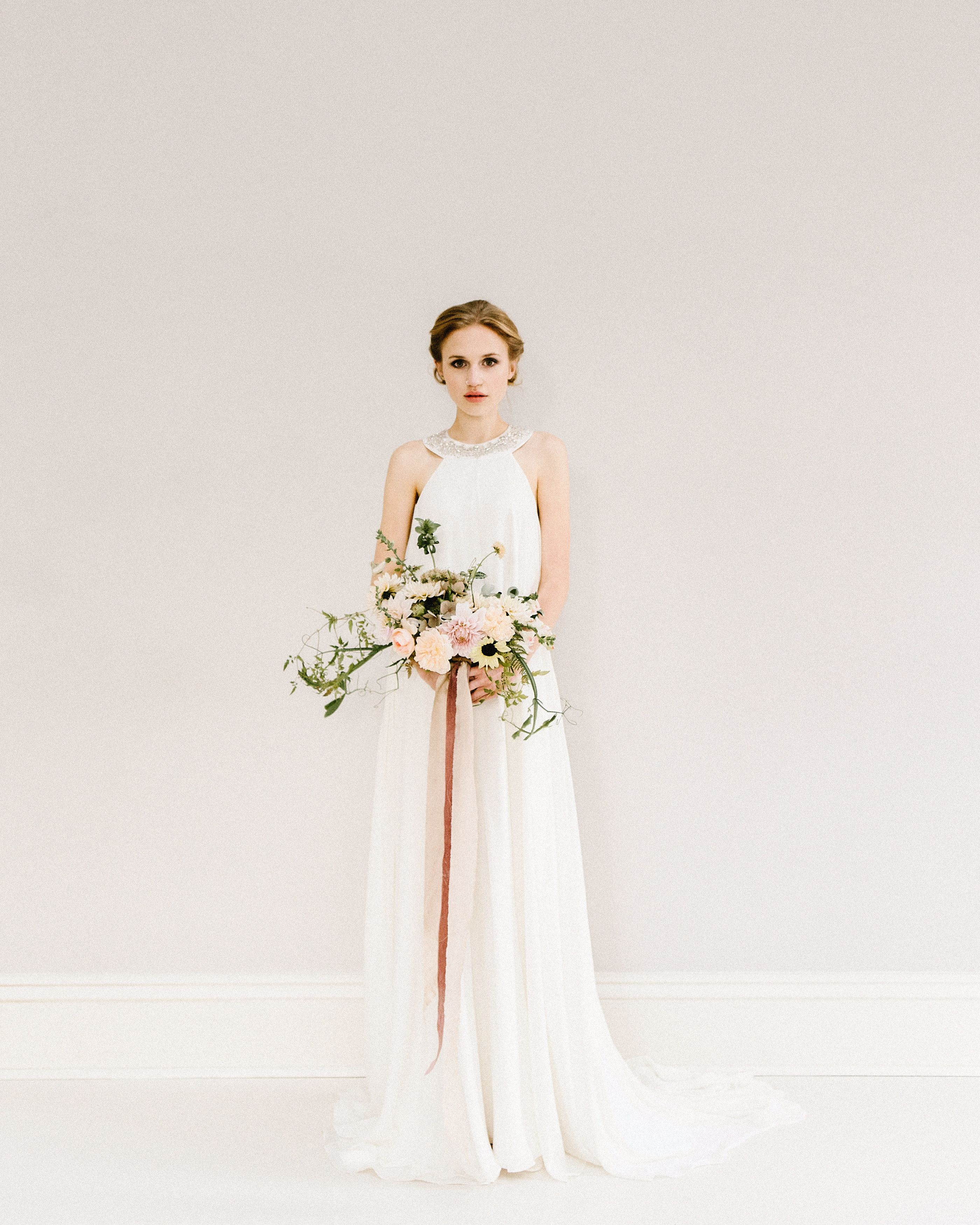 The Ivy Dress By Rolling In Roses Soft Chiffon Ivory Silk Wedding