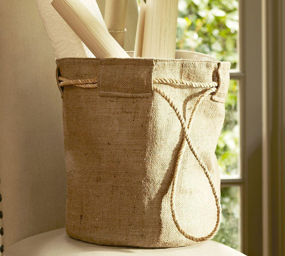Diy Burlap Sack: Another Burlap Bag Idea