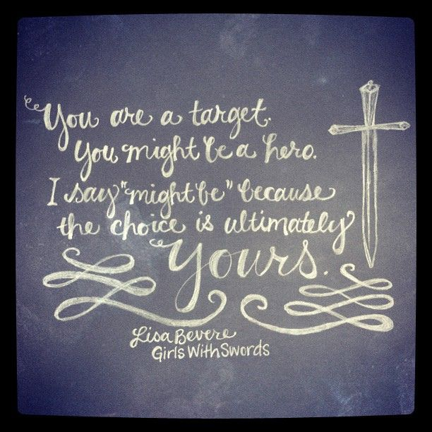 Sword In The Bible Quote: #GirlsWithSwords