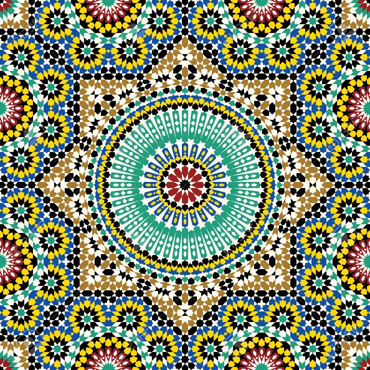 Stock Vector In 2019 Pattern Arabic Design Moroccan