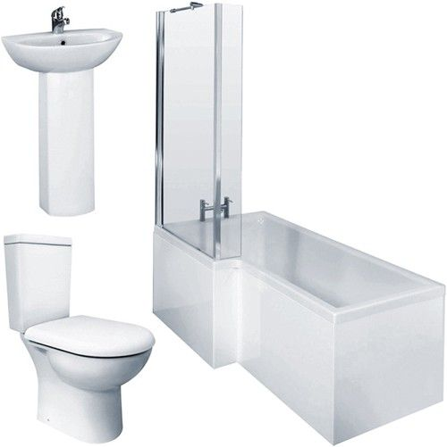 Shower bath pack UK & Ireland | Bathroom suites, Shower ...
