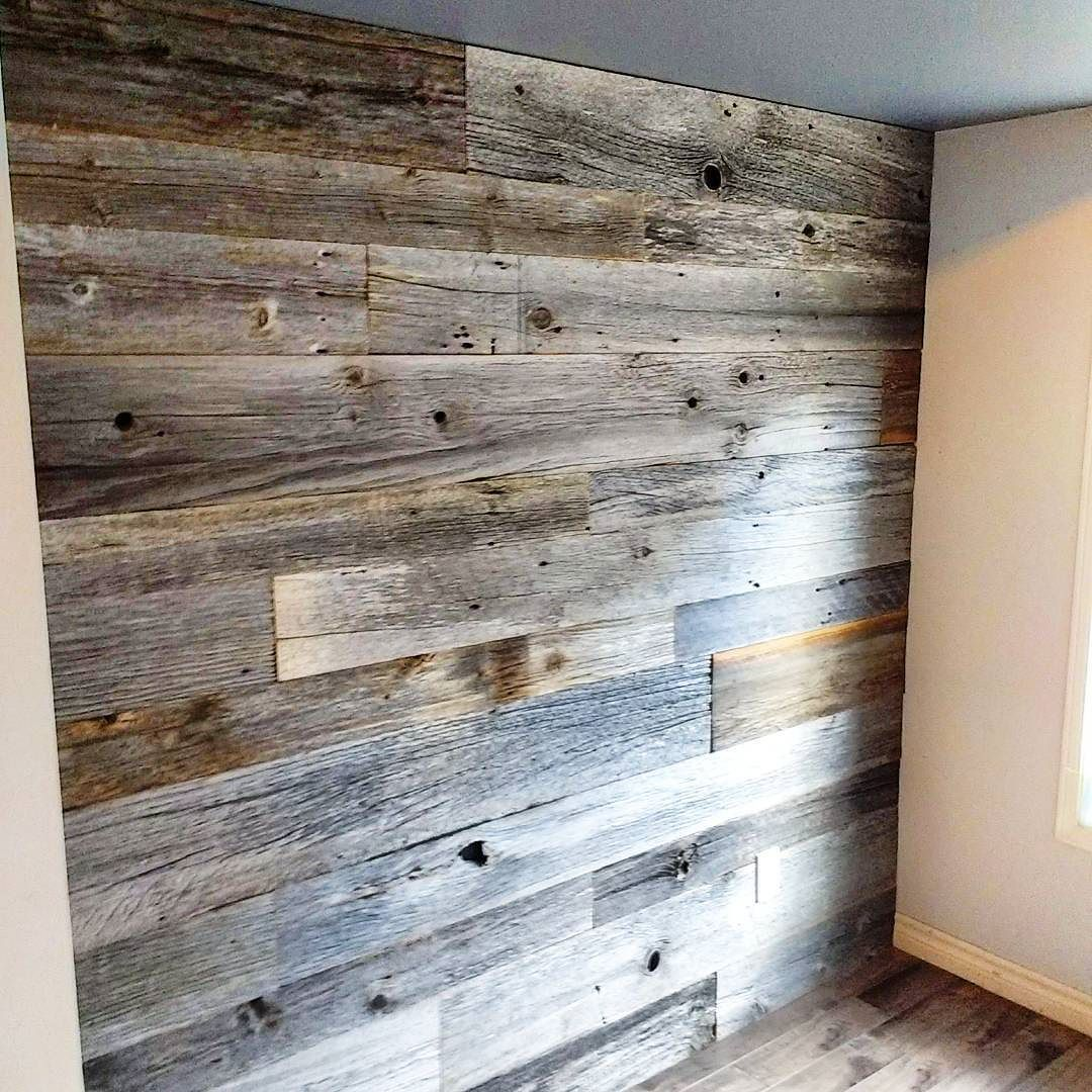 Reclaimed Grey Barn Board With A Hint Of Brown Reclaimed Wood