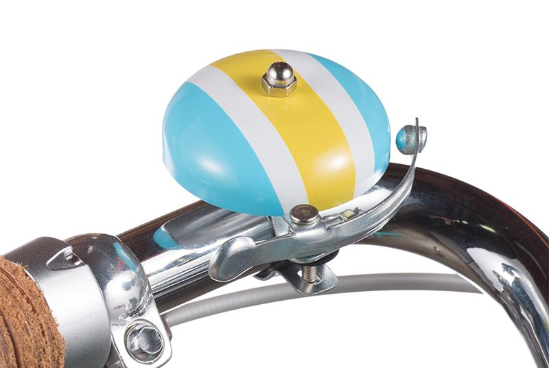 Luvelo Bella Racing Stripe Bicycle Bell Racing Stripes Bicycle