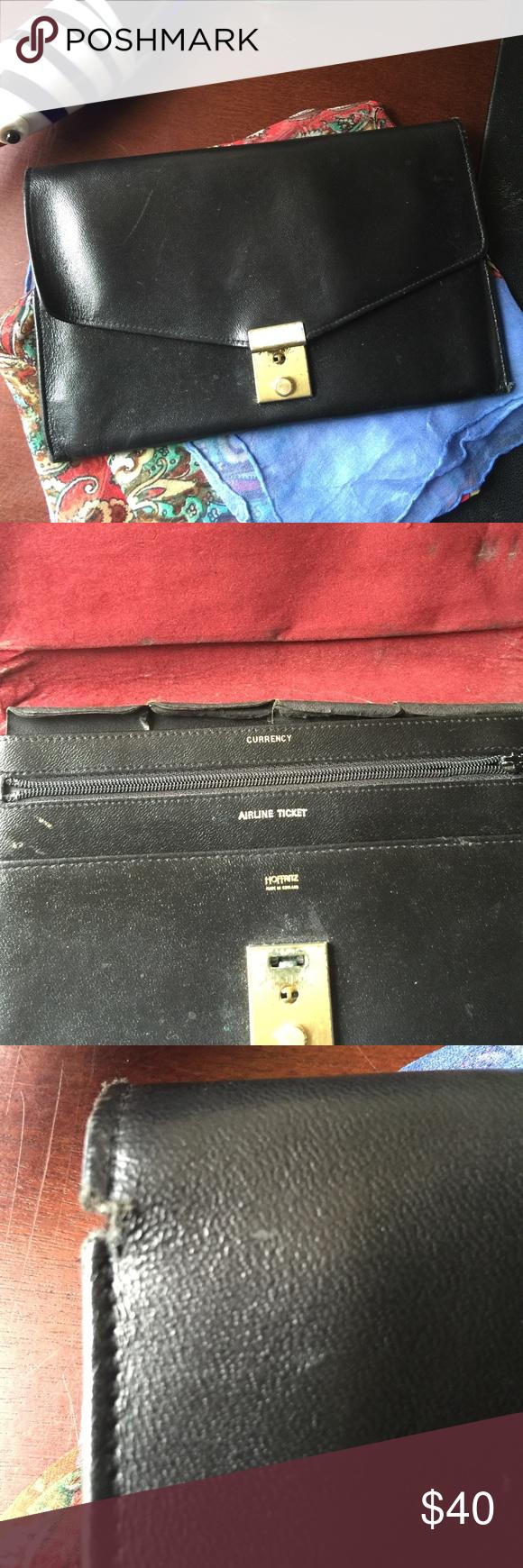 2 X Hp Fab Vintage Hoffritz Travel Wallet Travel Wallets Vintage Accessories Vintage