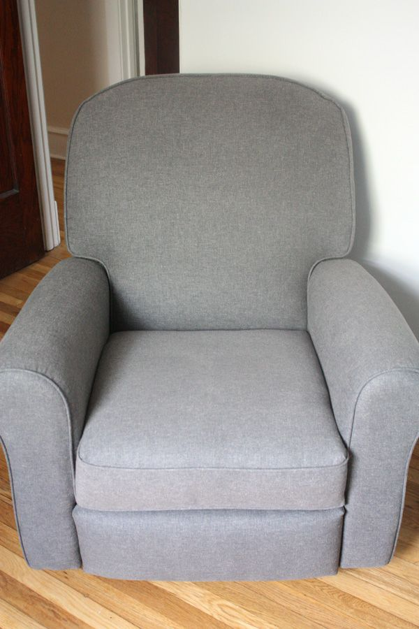 Baby Boy S Glider Recliner Best Chairs Benji In A Lighter Gray Fabric