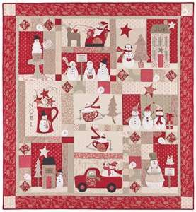 Merry, Merry Snowman, block of the month at Quilting by the Bay. I ... : quilts by the bay - Adamdwight.com