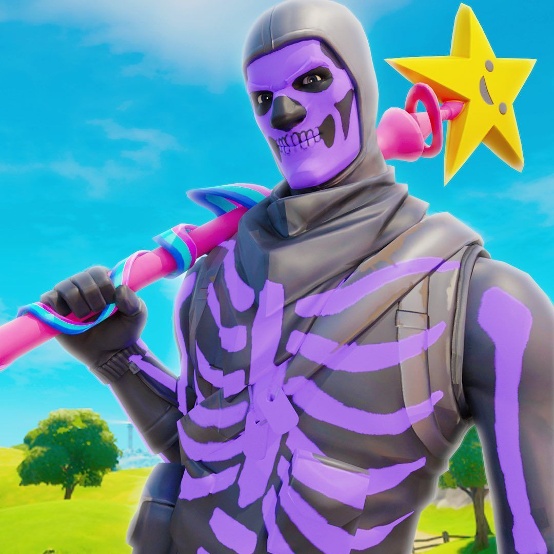 Envy Sto Instagram Purple Skull Trooper Credit Livid Meow Back U In 2020 Best Gaming Wallpapers Gaming Wallpapers Furry Drawing