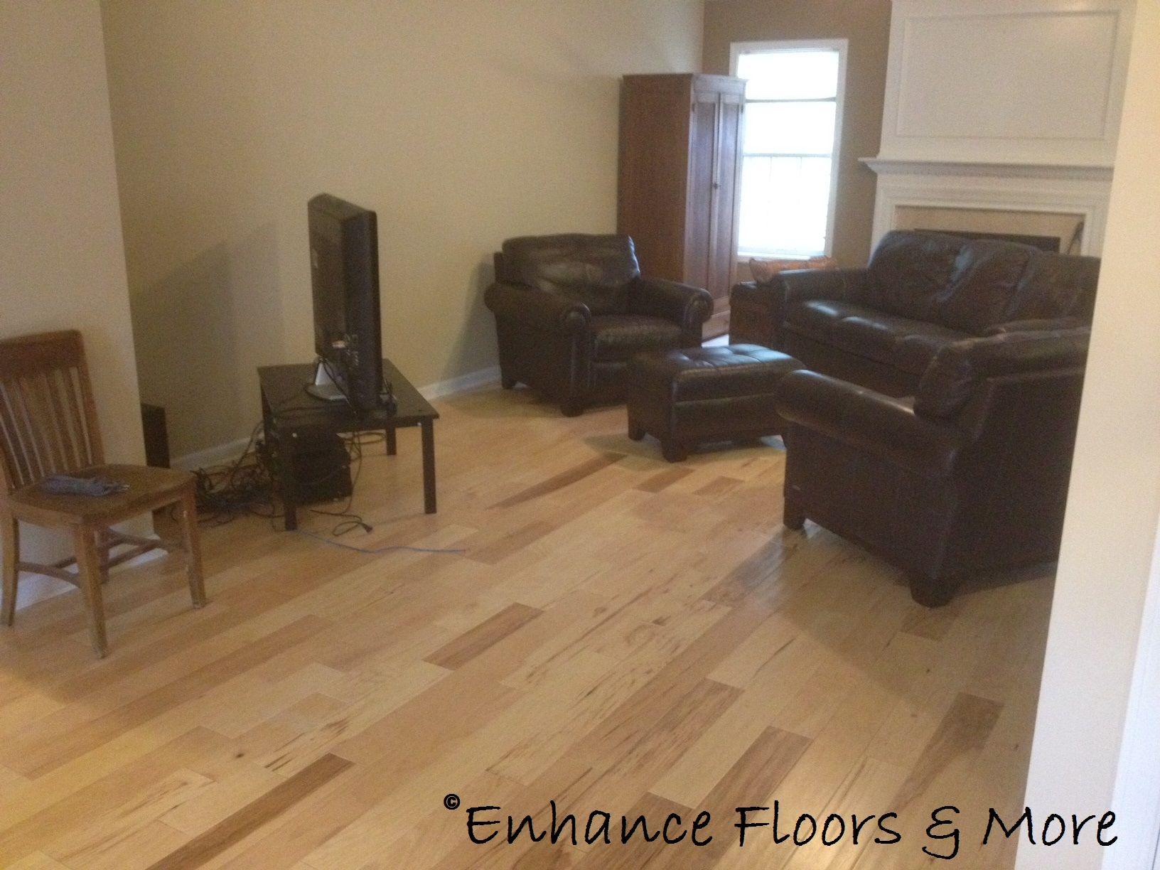Mohawk barnsley hickory country natural 3 8 x 5 39 39 soft for Laminate flooring barnsley