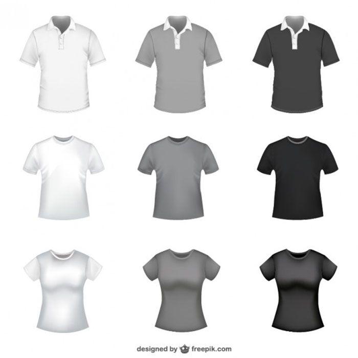 T Shirt Free Vector Templates Men S Fashion Pinterest Template Pocket Hoo