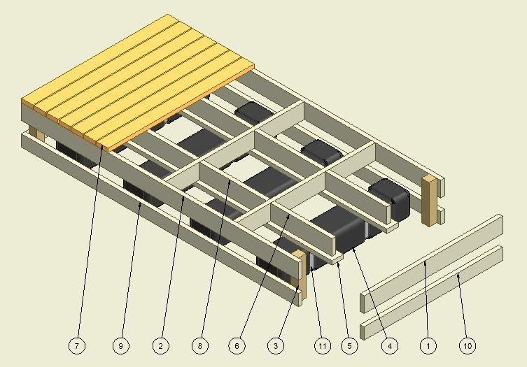 Build your own boat dock plans illustration Build your own boat dock ...