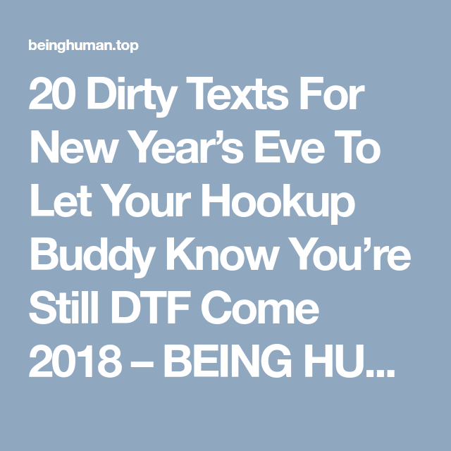 Hookup new year