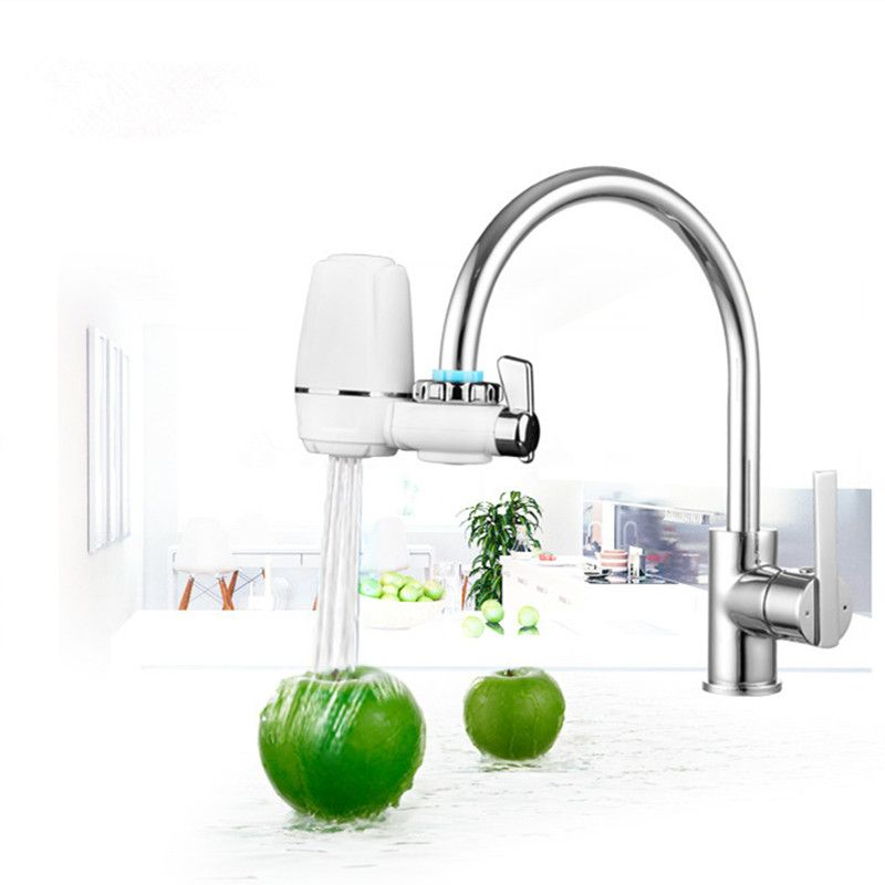 Water Filter Attachment On The Crane Nozzle On The Faucet To Conserve Water  Purifier Tips On
