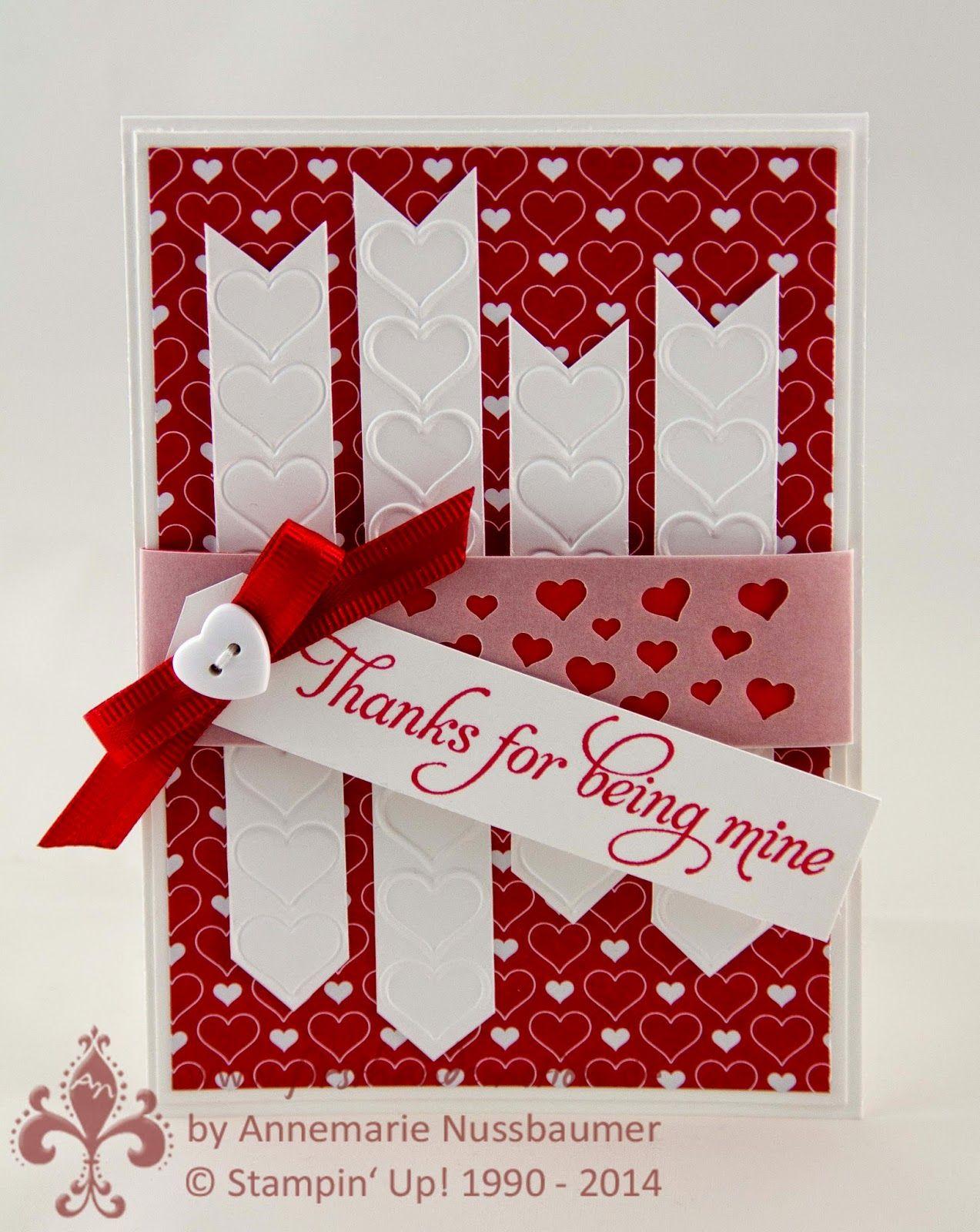 Stampin' Up! by First Hand Emotion: IN{K}SPIRE_me Challenge #184: Valentinstag