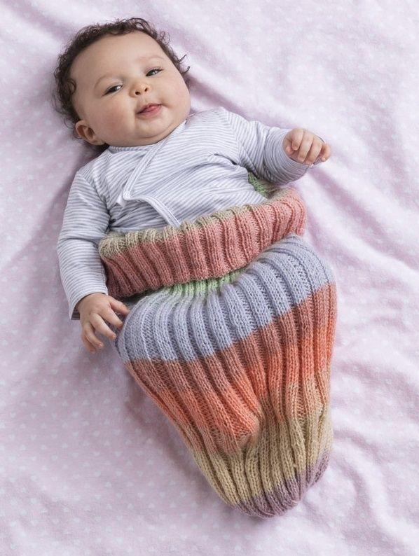 Free Knitting Pattern for a Baby Cozie | Knitting patterns ...