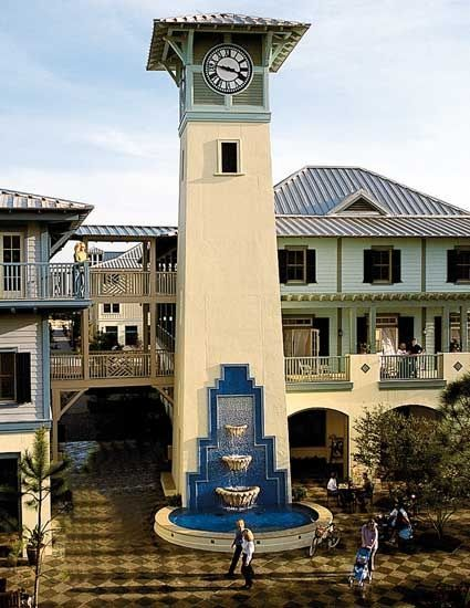 Watercolor Town Center Watercolor Fl Seaside Florida