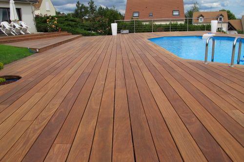 Terrasse bois exotique en pose invisible 1 Pinterest