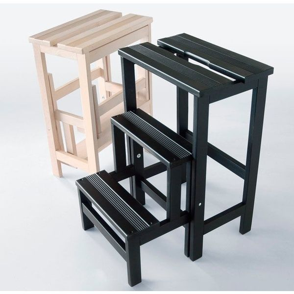 Taburete escalera stool ladder radius design sillas y for Taburete escalera plegable plastico