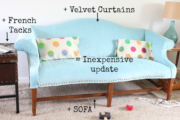 Diy Upholstered Sofa At Home On The Bay Reupholster Furniture Home Diy Upholstered Sofa